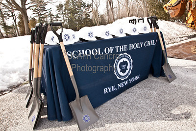 Holy Child Fieldhouse Groundbreaking